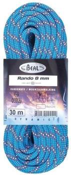 Beal Rando 8 Mm 30 m Blue