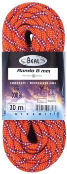 Beal Rando 8 Mm 30 m Orange