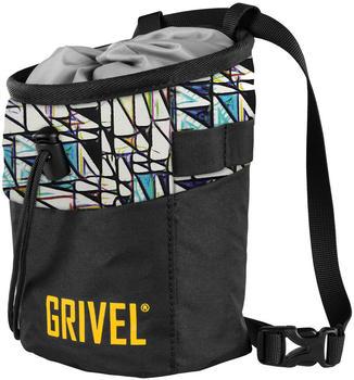 Grivel Trend Boulder Chalk Bag (Abstract Black)