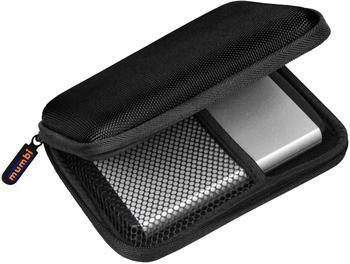 mumbi Festplattentasche bis (2,5 Zoll) schwarz