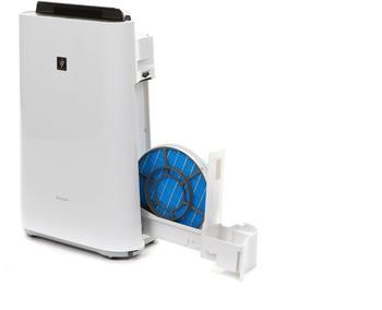 Sharp Luftreiniger KC-D50EUW Plasmacluster, für 38 m² Räume weiß