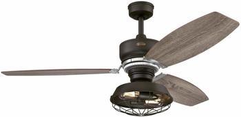 WESTINGHOUSE Deckenventilator (Ø x H) 137.00cm x 58.50cm Flügelfarbe: Bronze Gehäusefarbe