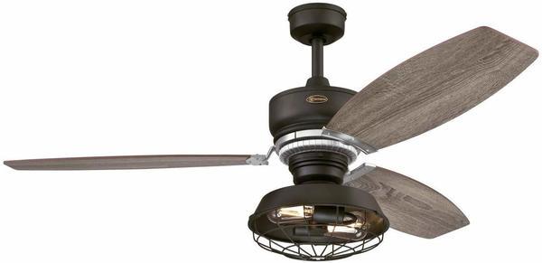 WESTINGHOUSE Welford Deckenventilator (Ø x H) 137.00cm x 58.50cm Flügelfarbe: Bronze Gehäusefarbe