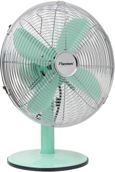 bestron-mobiler-tischventilator-mit-schwenkfunktion-im-retro-design-hoehe-43-cm-35-cm-summer-breeze-35-watt-mint