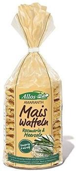 Allos Amaranth Maiswaffeln Rosmarin & Meersalz (100g)
