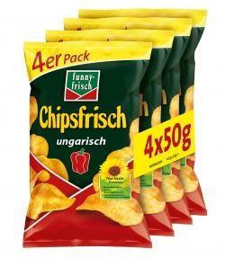 funny-frisch Chipsfrisch Ungarisch 4er (200g)