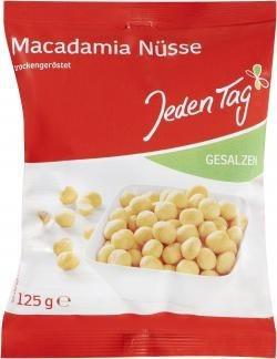 Jeden Tag Macadamia-Nüsse (125g)