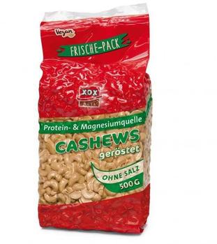XOX Cashews geröstet & ohne Salz (500g)