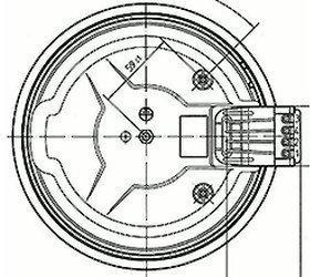 E.G.O. Elektro Kochplatte 12.18453.196