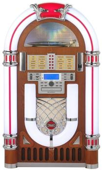 Ricatech RR2100 Light Wood XXL Classic LED Jukebox