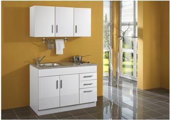 Miniküche 120 Cm Breit Mit Kühlschrank : Kompaktküche breite 120 cm test 4 kompaktküchen breite 120 cm