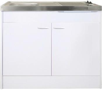 Respekta Miniküche 100 cm weiß (Pantry OKCS)