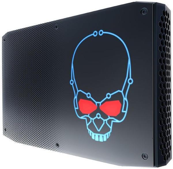 Intel NUC NUC8i7HNK BGA 2270 3.1GHz i7-8705G 1,2L Größe PC Schwarz