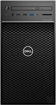 Dell Precision 3630 W56DG PC-System, Schwarz Windows 10 Pro