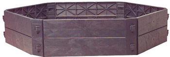 KHW Schnellkomposter Aufbauset SKA 250 Liter (55019)