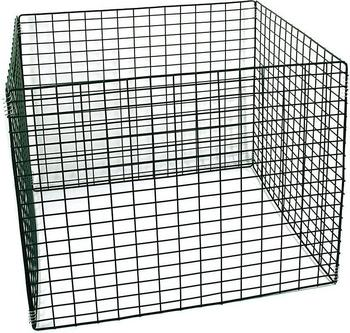 Gaardi Metall-Komposter 90 x 90 x 70 cm grün