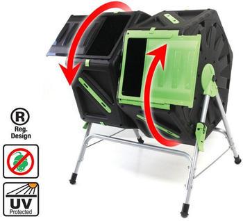 UPP Trommel-Komposter 2 x 70 Liter