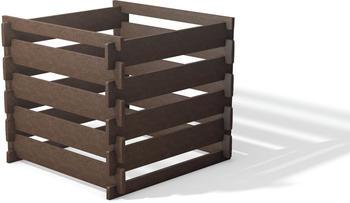 Hahn Steckkomposter hanit 100 x 100 x 90 cm braun