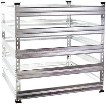 Wiltec Metal Composter 720L