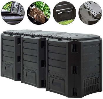 prosperplast-garden-composter-1200l-black