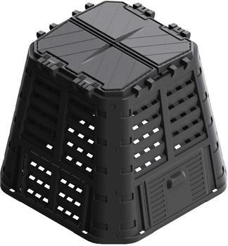 vidaXL Garden composter black 480 L