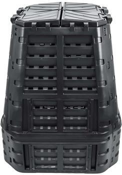 vidaXL Garden composter black 740 L