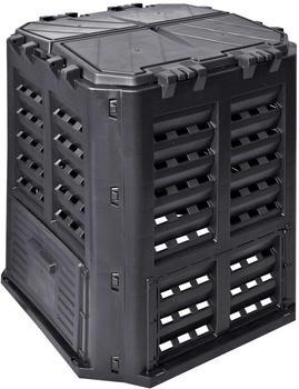 vidaXL Garden composter black 360 L