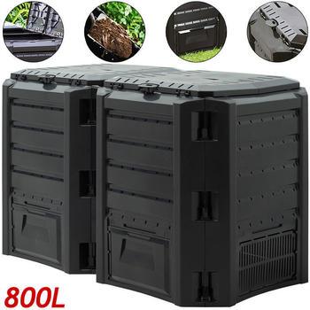 Prosperplast Garden Composter (800L) Black