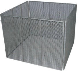 Trend Line Metall-Komposter 100 x 100 cm