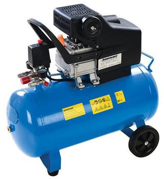Silverline DIY 2hp Air Compressor 1500W 357345