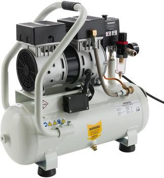 Arebos Flüster-Kompressor 12 Liter 500 Watt ölfrei