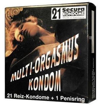 Secura Multi-Orgasmus Kondome (21 Stk.)
