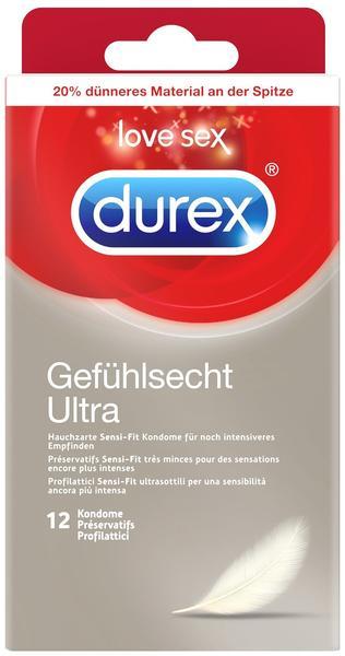 Durex Gefühlsecht Ultra (12 Stk.)