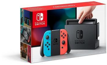 Nintendo Switch neon-rotneon-blau