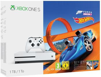 Microsoft Xbox One S 1TB + Forza Horizon 3 Hot Wheels