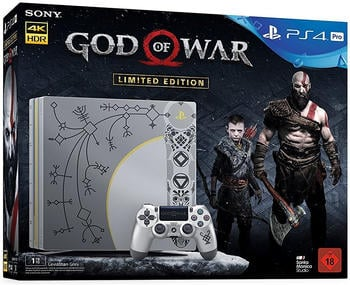 Sony PlayStation 4 (PS4) Pro 1TB God of War - Limited Edition