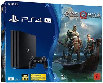 Sony PlayStation 4 (PS4) Pro 1TB + God of War