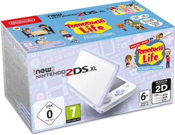 Nintendo New 2DS XL (Weiß+Lavendel) + Tomodachi Life