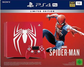 Sony PlayStation 4 Pro 1TB Spider-Man Limited Edition