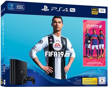 Sony Playstation 4 Pro 1TB + Fifa19 + 14.Tag