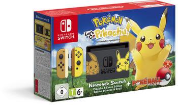 Nintendo Nsw Konsole + Pokémon Let´s Go Pikachu