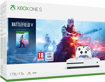 Microsoft Xbox One S 1TB Battlefield V Bundle