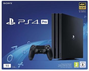 Sony Playstation 4 Pro 1TB, schwarz, CUH-7216B