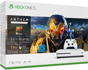 Microsoft Xbox One S 1TB + Anthem
