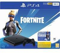 Sony PS4 Slim 500GB schwarz + Fortnite (Bundle)