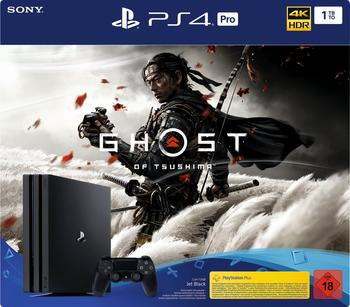 Sony PlayStation 4 Pro 1TB Ghost of Tsushima