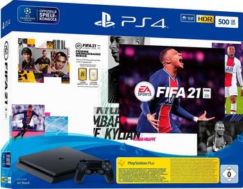Sony PlayStation 4 (PS4) Slim 500GB + FIFA 21