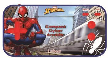 lexibook-spider-man-tragbare-compact-cyber-arcade-konsole-25-150-spiele-schwarz-rot