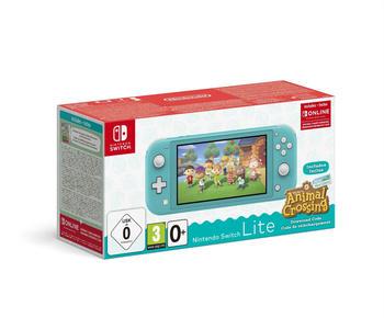Nintendo Switch Lite türkis inkl. Animal Crossing: New Horizons