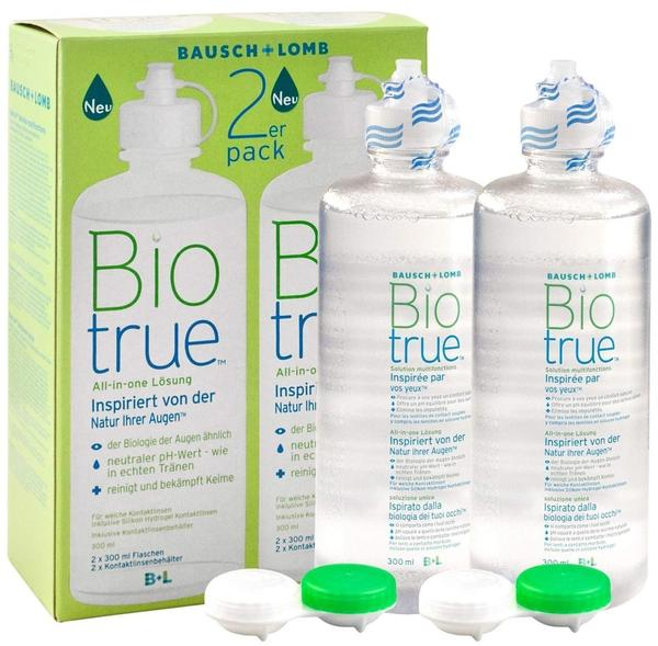 Bausch & Lomb Biotrue All-in-one Lösung (2 x 300ml)